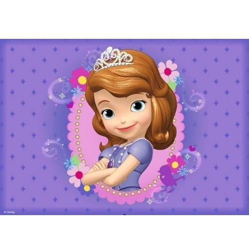 Sofia the First Edible Cake Image - A4 Size