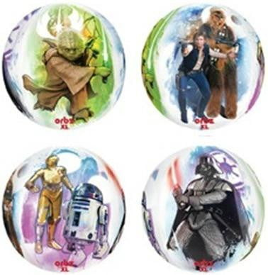 Star Wars Orbz Balloon | Star Wars Party Theme & Supplies