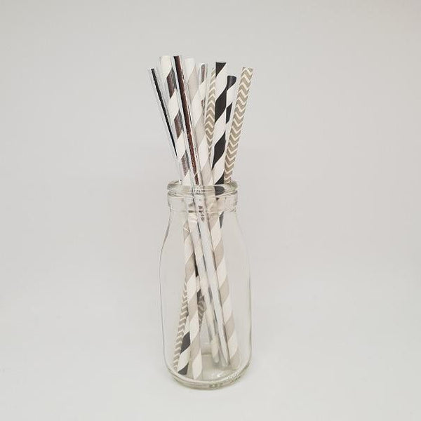 The Studio Workshop | Monochrome Paper Straws
