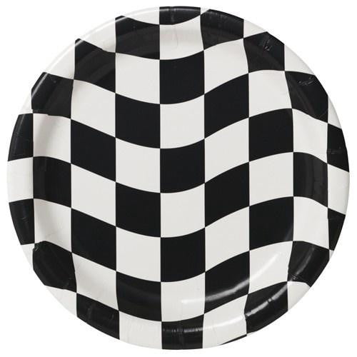 Checkered Plates | Racing Car Party | Disney Cars Party