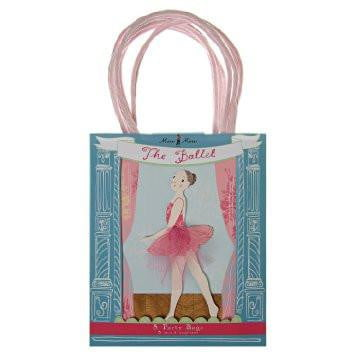 Meri Meri Ballet Party Bags | Ballet themed party Supplies