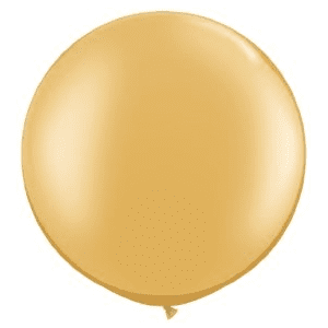 Jumbo Balloon - Metallic Gold