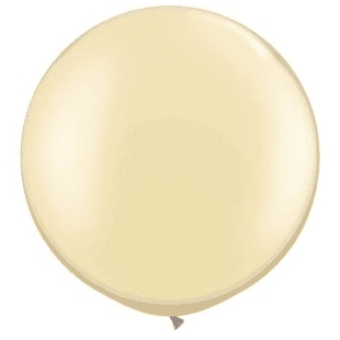 Ivory Giant Balloon | Wedding Balloons