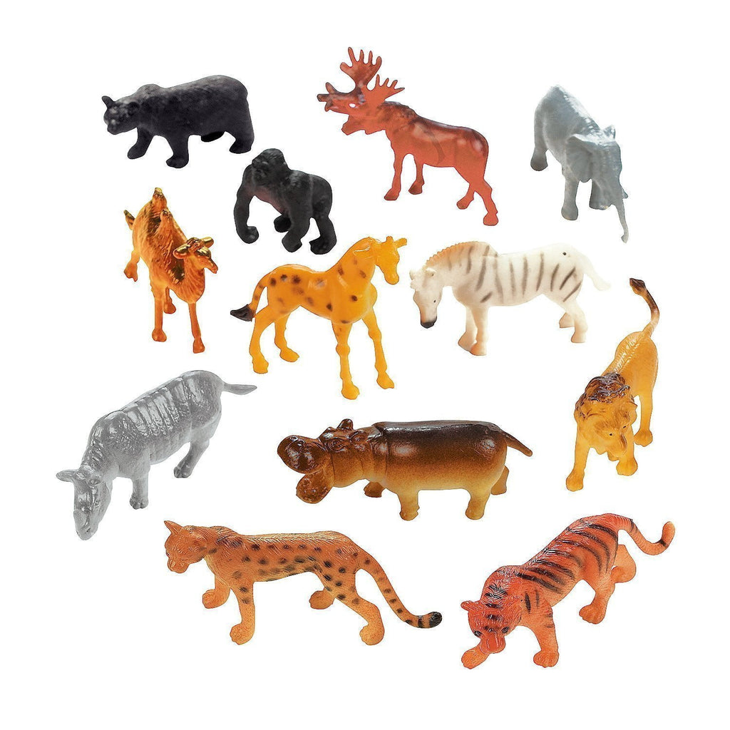 Safari Animal Figurine | Animal Party