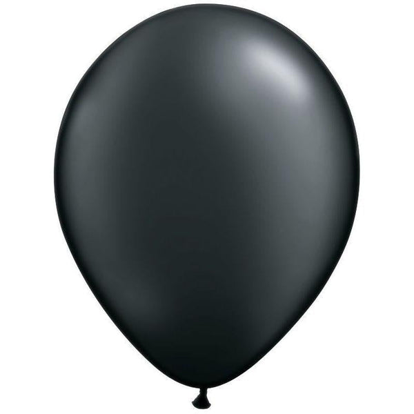 Qualatex | Pearl Onyx Black Balloon | Black Party Supplies