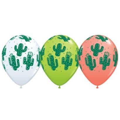 Anagram | Cactus Balloon | Fiesta Party Theme & Supplies