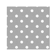 Silver Spotted Tablerunner | Silver Party Supplies