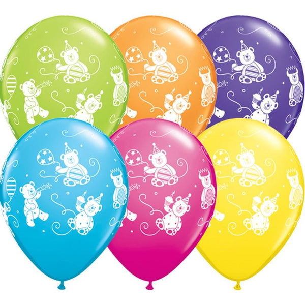 Qualatex | Cute & Cuddly Bears Balloon | 1st Birthday Party Theme & Supplies