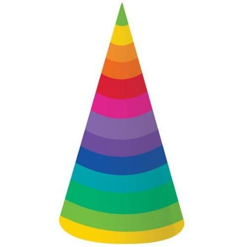 Rainbow Party Hat | Rainbow Party Theme & Supplies