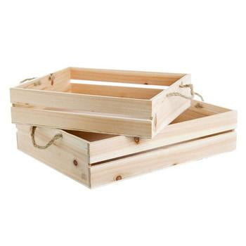 Wooden Crate Hire | Kids Birthday Party Supplies