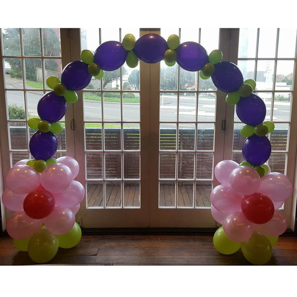 Floral Balloon Arch | Balloon Decor Wellington