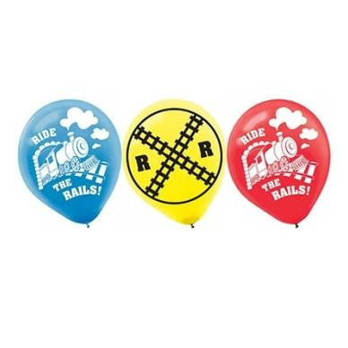 Amscan | Thomas the Tank Engine Ride the Rails Train Balloons - Pack of 6