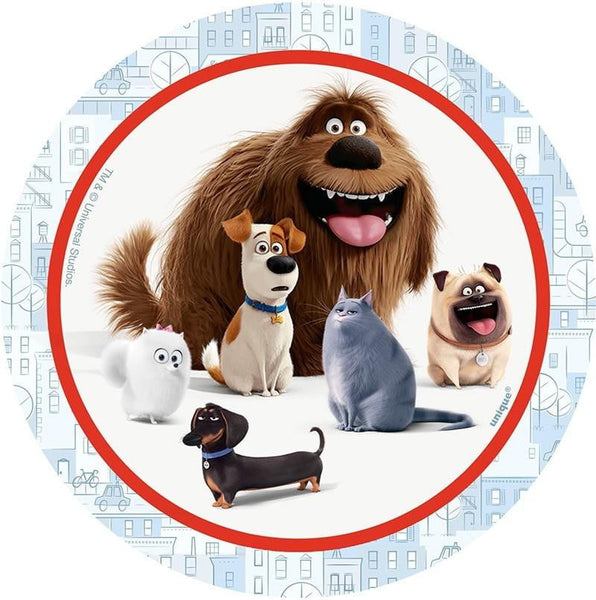 Secret Life of Pets Edible Image | Animal Party