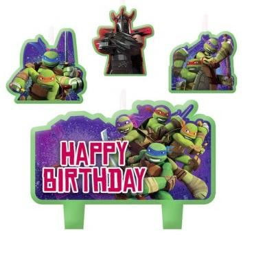Teenage Mutant Ninja Turtles Candles | TMNT Cake