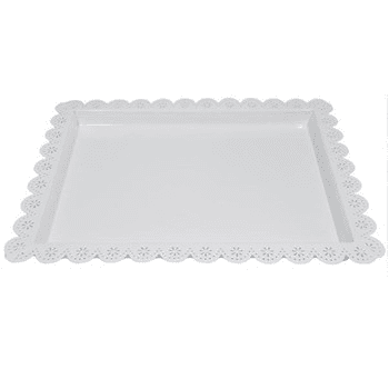 Large Doily Tray