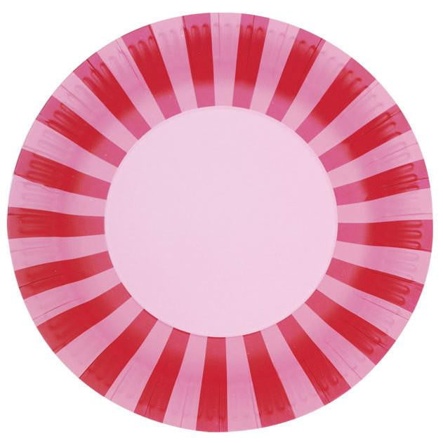 Paper Eskimo | Pink Plates | Pink Party Theme and Supplies