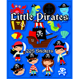 Pirate sticker book | Pirate party theme and supplies