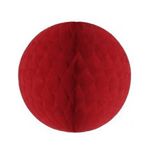 Red Honeycomb Ball | Red Party Decorations