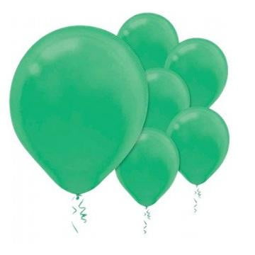 Amscan | Value Balloons Pack of 15 - Festive Green