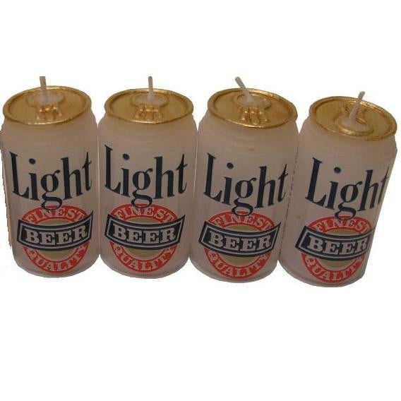 Beer Candles | Beer Can Candles | Father's Day Cake Supplies