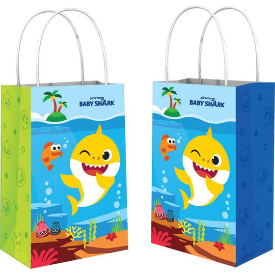 Baby Shark Paper Party Bags | Amscan