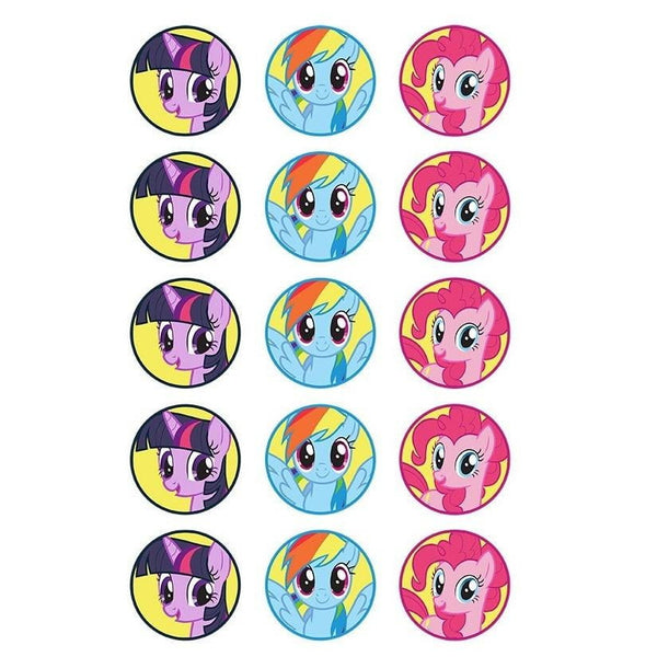 My Little Pony Edible Cupcake images