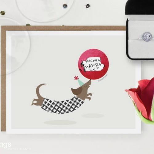Inklings | Make Your Own Scratch Card - Clown Dog