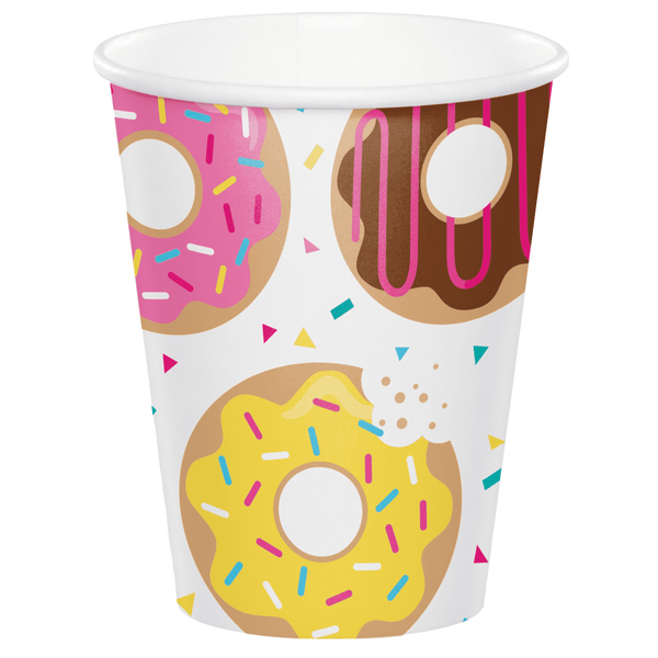 Donut Time Cups | Donut Party Supplies