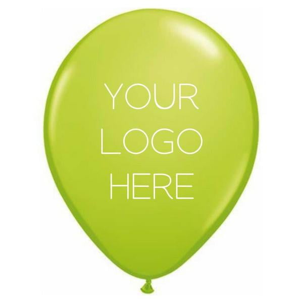 "Custom Printed 11"" Latex Balloon - Two Sides - Pack of 200"