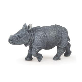 Papo | Baby Rhinoceros Cake Topper - Indian | Animal Party Theme & Supplies