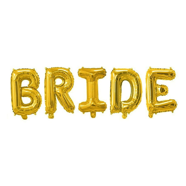 Gold Bride Balloon Banner | Bridal Shower Decorations