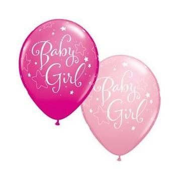 Baby Girl Stars Balloon | Baby Shower Party Theme & Supplies