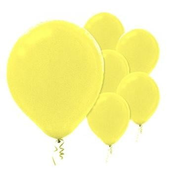 Amscan | Value Balloons Pack of 15 - Pearl Yellow