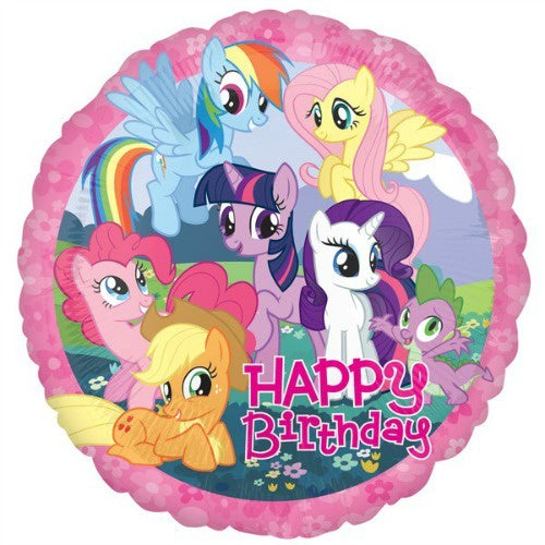 Anagram | My Little Pony Happy Birthday Foil Balloon