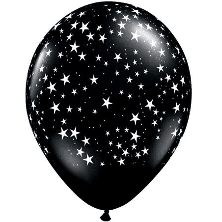 Black Star Balloon | Space Party