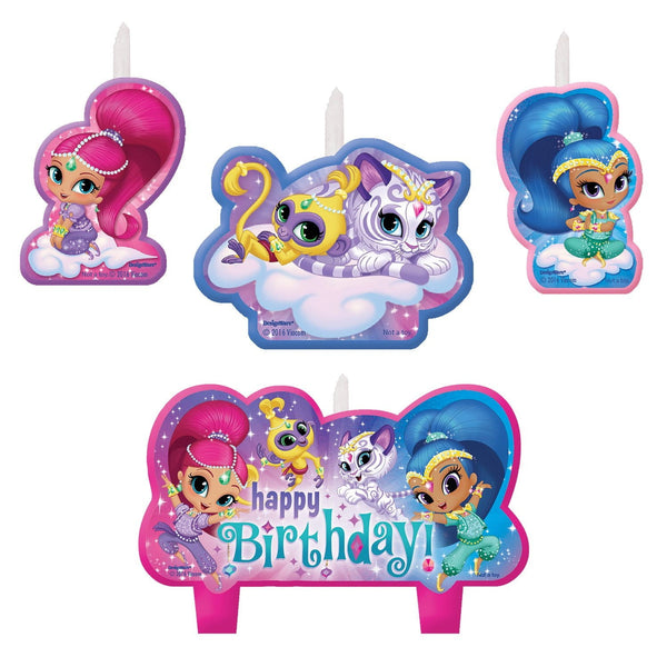 Shimmer and Shine Birthday Candles | Shimmer and Shine Cake