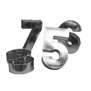 Number Cake Tin Hire | Kids Birthday Party Supplies