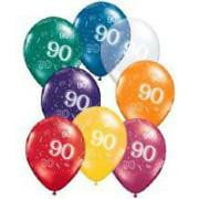 90th Birthday Balloons | 90th Birthday Party Supplies
