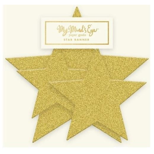 Mini Gold Star Banner