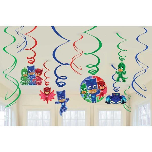 PJ Masks Swirl Decorations | PJ Masks Party Supplies