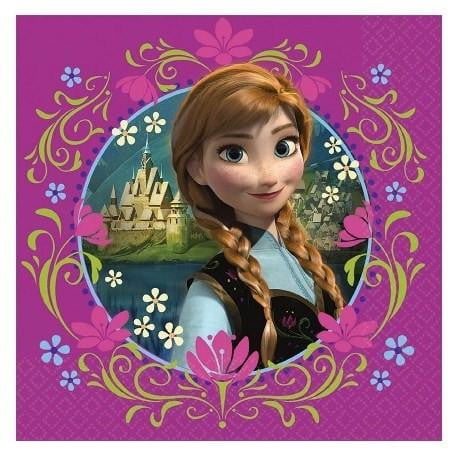 Disney | Frozen Napkins | Frozen Party Theme and Supplies