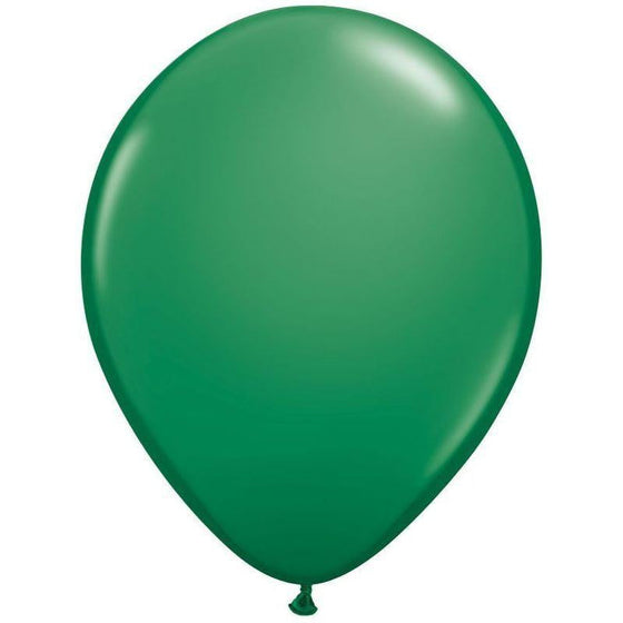 Qualatex | Standard Green Balloon | Dinosaur Party