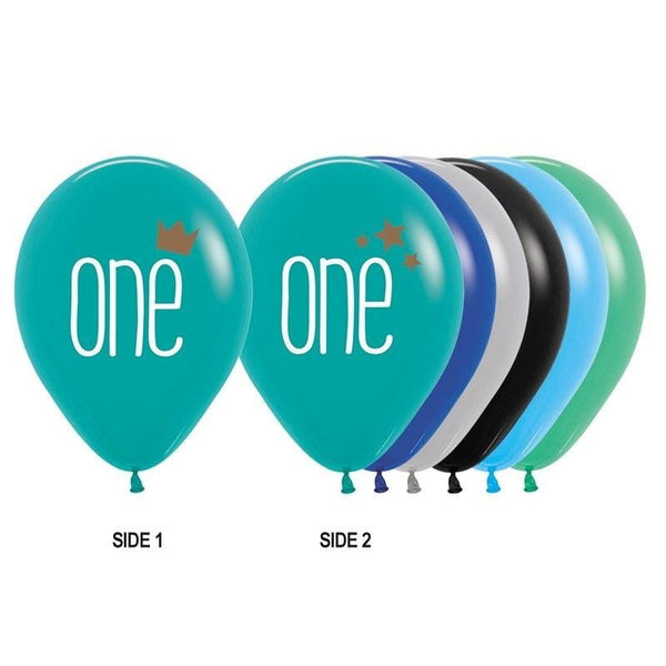 Sempertex | One Boy Balloon | 1st Birthday