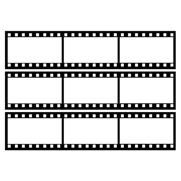 Film Strips Edible Cake Image | Hollywood Cake Decorations