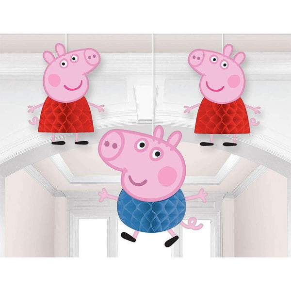 Peppa Pig Honeycomb Decorations | Peppa Pig Party Supplies