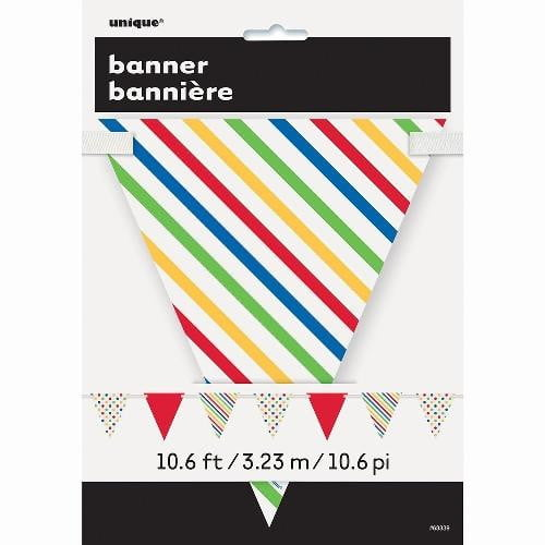 Colourful Bunting | Rainbow Party Theme and Supplies