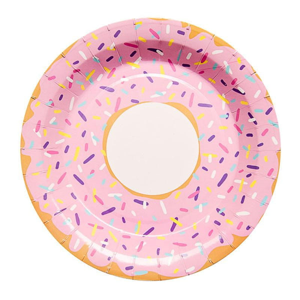 Sundays | Donut Plates | Donut Party Theme & Supplies