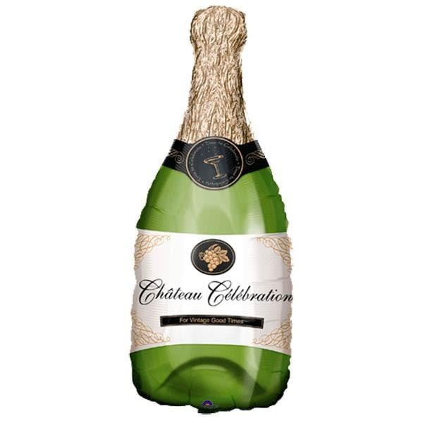 Champagne Bottle Balloon | Congratulations Gifts