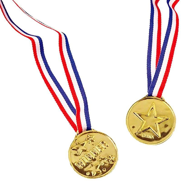 Plastic Gold Medal | Sports Party Supplies