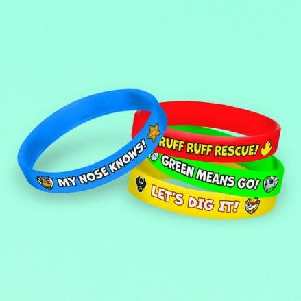 Amscan | Paw Patrol Silicone Bracelets - Pack of 4